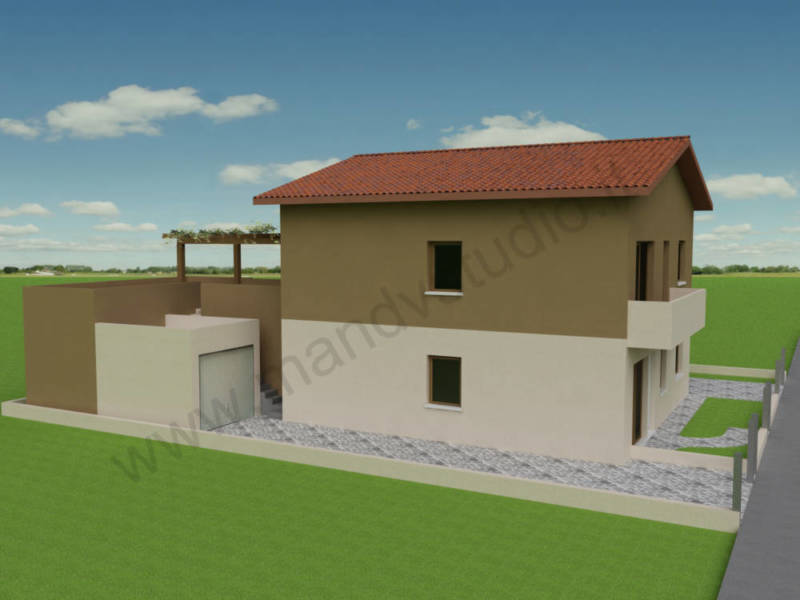 Ristrutturazione abitazione e realizzazione di una for Ottenere un prestito per costruire una casa