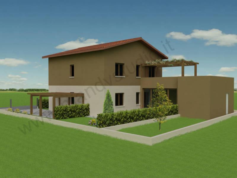 Ristrutturazione abitazione e realizzazione di una for Case anni 70 ristrutturate
