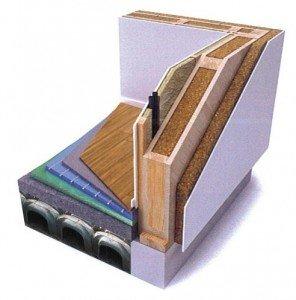 Parete in legno a telaio com fatta progetto biocasa for Piani di studio 300 piedi quadrati