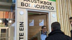 acustic box Klimahouse